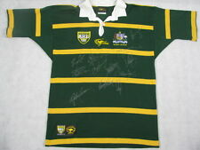 2003 Australia Kangaroos Heritage Jersey Hand Signed + Photo Proof  PLEASE READ