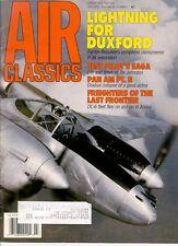 Air Classics V28 N7 Ww2 Bell Test Pilot Tex Johnson Xp-59 Xs / Pan Am Glory Days