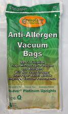Hoover Q AH10000 Platinum UH30010COM Allergen Filtration Vacuum bags 3 pack