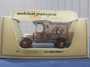 "Matchbox - Models of Yesteryear - ""Ford Model T"" - Motor 100 - Y-3"