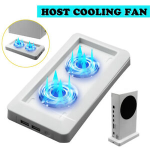 Cooling Fan USB Vertical Stand Cooler Accessories For Xbox Series S Game Console