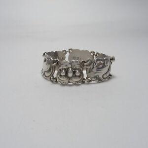 Georg Jensen Bracelet #14 Sterling Silver 925 Rare