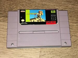 Paperboy 2 Super Nintendo Snes Cleaned & Tested Authentic
