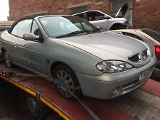 RENAULT MEGANE 1.6 16v Silver Blue CONVERTIBLE  BREAKING PARTS AVAILABLE 2001