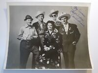 Rare VINTAGE DOC WILLIAMS Hand Signed AUTOGRAPH Country Western PHOTO
