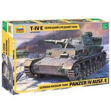 Zvezda 3641 German Medium Tank Panzer IV AUSF. E 1/35