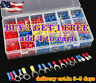 520PCS Insulated Electrical Wire Splice Terminal Spade/Crimp/Ring Connector Kit