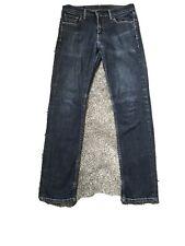 LEVIS Jeans Blue denim 535 W30 L31 straight leg Levi Red Tab