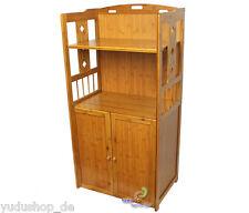Regal Bambusregal Allzweckregal Bücherregal Standregal mit 2 Türen Nr:SDL-0059