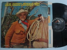 LORNE GREEN American West COUNTRY Mono LP Shrink RCA Orig. 1966 DG