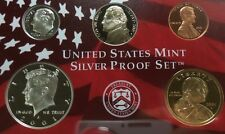 2001 S US Mint Silver 10 Coin Proof Set OGP Includes State Quarters