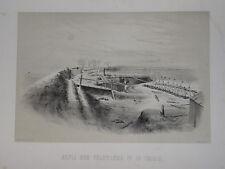 RARE Litho THIAIS SIEGE PARIS GUERRE 1870 VAL MARNE MILITAIRE PRUSSE PREUSSEN d