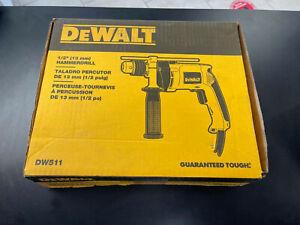 NEW SEALED! DEWALT CORDED ELECTRIC 1/2 HAMMERDRILL MODEL: DW511