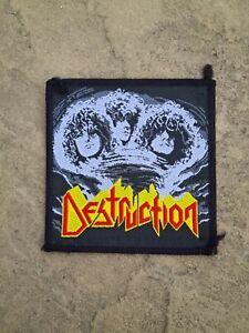 Destruction Eternal Devastation Patch Original vintage 80'S RARE