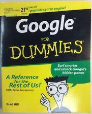 Google For Dummies 2003 Softback Brad Hill PreownedBook.com