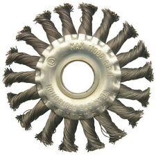 Tellerbürste Ø 100mm, gezopft, für Flex, Bohrung 22,2mm, U17