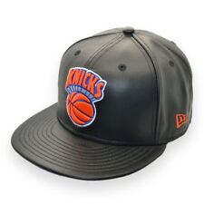 NEW ERA NEW YORK KNICKS NBA BASKETBALL 59FIFTY LEATHER SAMPLE CAP