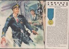 """Cartolina Militare - R.Ferrari """"Medaglia D'Oro Umberto Novaro n°89 Non Viaggiata"""