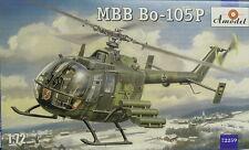 MBB Bo-105 P Milär,1:72, Amodel, Plastik, Heer und Spanien, NEU