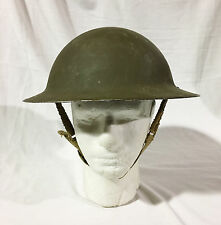 Canadian Army Military MKII Mark 2 Tommy Helmet Brodie Helmet  WWII World War 2