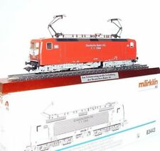 Marklin AC HO German DB BR-143 DEUTSCHE BAHN AG Locomotive + DISPLAY PLINTH MIB!