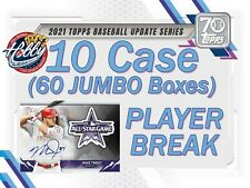 Matt Harvey ORIOLES 2021 Topps UPDATE JUMBO 10 Case (60 Box) Player Break