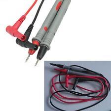 Digital Multimeter Multi Meter Test Lead Probe Wire Pen Cable Silicone handleTLC