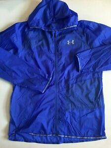 Under Armour New Run Wind Running Shell Jacket Men's Large 1326597 MSRP $100