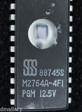 SGS M2764A-4FI  EPROM cerdip24  qty 1         Ship in USA tomorrow!