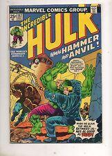 Incredible Hulk #182 VG/Fine 5.0 1ST APP WOLVERINE! 1ST CRACKAJACK 181 JACKSON!