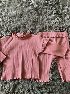Girls Top &leggings Age 3-6 Months