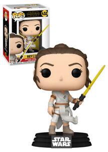 Funko POP! Star Wars #462 Star Wars - Rey With Yellow Saber Pop!  - New