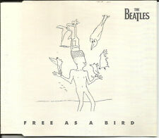BEATLES Free As A Bird UNRELEASED Christmas Europe CD Single SEALED USA seller