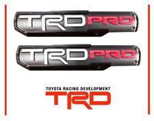 Genuine Toyota Tacoma 2016 2017 2018 TRD PRO Door Emblem Set Emblems OEM OE