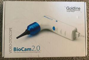 Goldline BioCam 2.0 Veterinary Video Otoscope Handheld System for VETS CIB