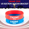 Donald Trump Election Silicone Bracelet Keep America Great Again President 2020