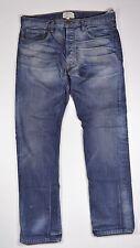 Current/Elliot THE STRAIGHT LEG Mens Miners Jean Size 34X34 Blue Denim  NEW