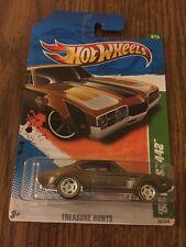 Hot Wheels 2011 - Super Treasure Hunt 8/15 - '68 Olds 442  #58 MOC