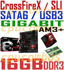 COMBO AMD FX-8320 EIGHT CORE CPU+16GBDDR3 RAM+MSI 970 Gaming CFX/SLI Motherboard