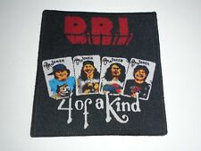 Dirty Rotten Imbeciles D.R.I. Woven Patch