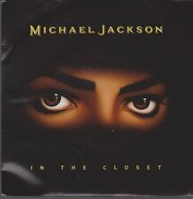 "7"" Vinyl Single Michael Jackson In The Closet 90`s CBS Epic MJJ 657 934"