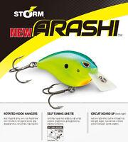 "Storm Arashi Silent Square 05 Pro Blue ASQS05-859 2 3//8/"" 5//8 oz Crankbait Lure"