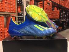buy popular 7c730 05e4f Adidas Para Hombre X 18+ FG Botines de Fútbol (Azul Solar Amarillo