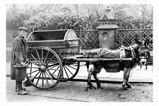 pt3698 - Cleaning Department Donkey and Cart , Sheffield , Yorkshire - photo 6x4