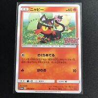 Litten 374/SM-P PROMO Pokemon Card Japanese  NM