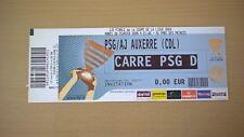 TICKET FOOTBALL PSG-AUXERRE 2008-DEMIE FINALE COUPE DE LA LIGUE