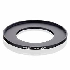 RISE(UK) 52mm-82mm 52-82 mm 52 to 82 Step Up Ring Filter Adapter black