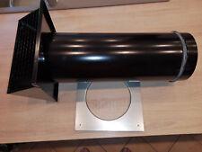 Lüftung Wohnraum Zuluft Abluft Außen Extern aus Metall 180mm