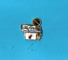 2013 Miami Heat NBA Championship Basketball Lapel Hat Pin
