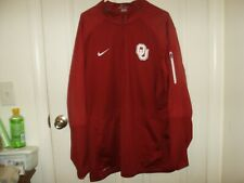 e9f143d21ff4 Oklahoma Sooners Men s Nike Dri-Fit 1 2 Zip Golf Hybrid Jacket Size XXL